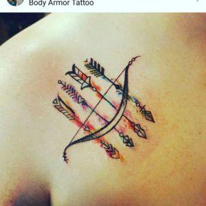 Significado De Tatuajes De Flechas Con Triangulos (150)