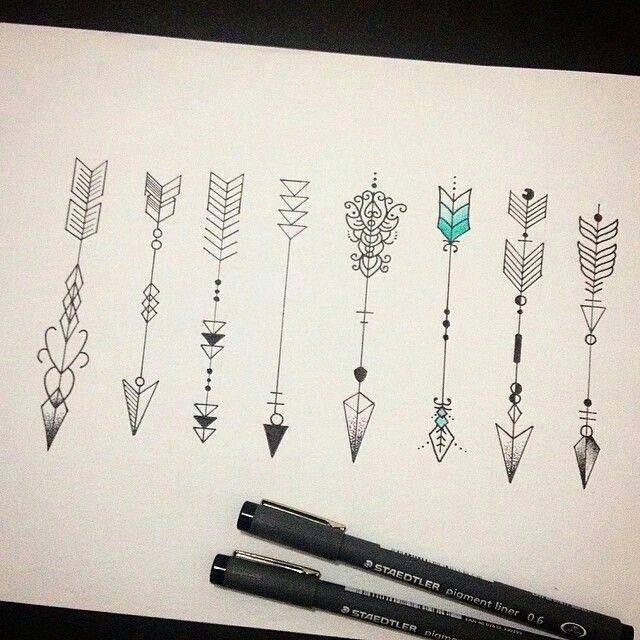 Significado De Tatuajes De Flechas Con Triangulos (152)