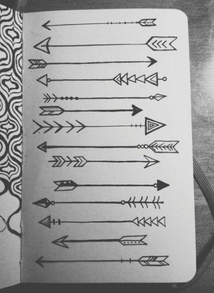 Significado De Tatuajes De Flechas Con Triangulos (157)