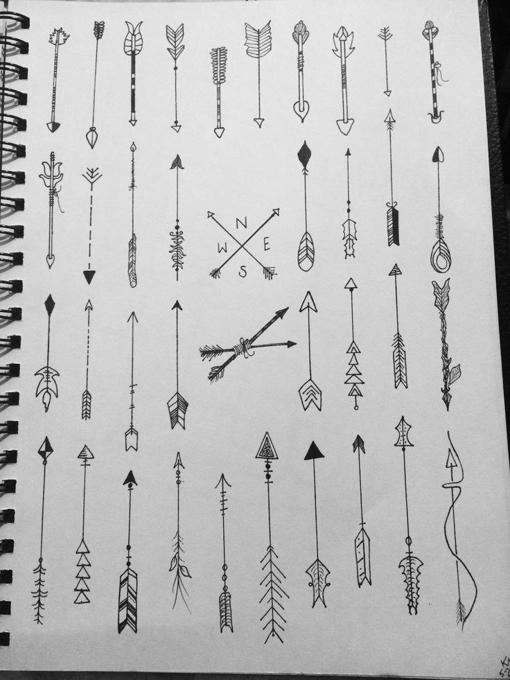 Significado De Tatuajes De Flechas Con Triangulos (158)