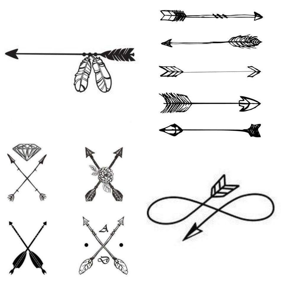 Significado De Tatuajes De Flechas Con Triangulos (160)