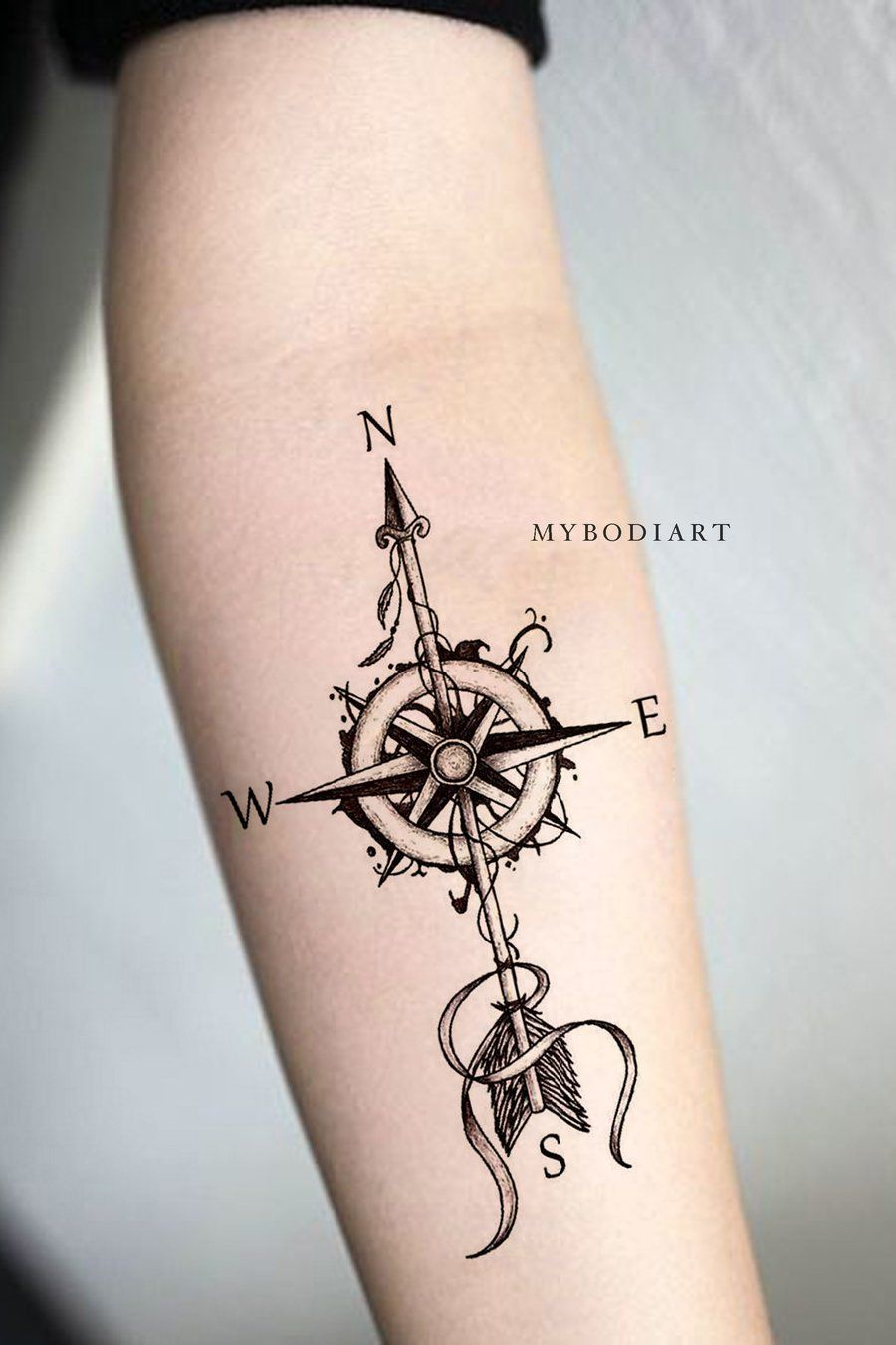 Significado De Tatuajes De Flechas Con Triangulos (163)
