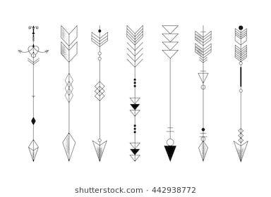 Significado De Tatuajes De Flechas Con Triangulos (164)