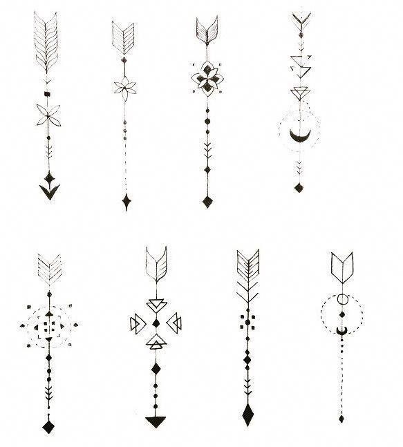 Significado De Tatuajes De Flechas Con Triangulos (18)