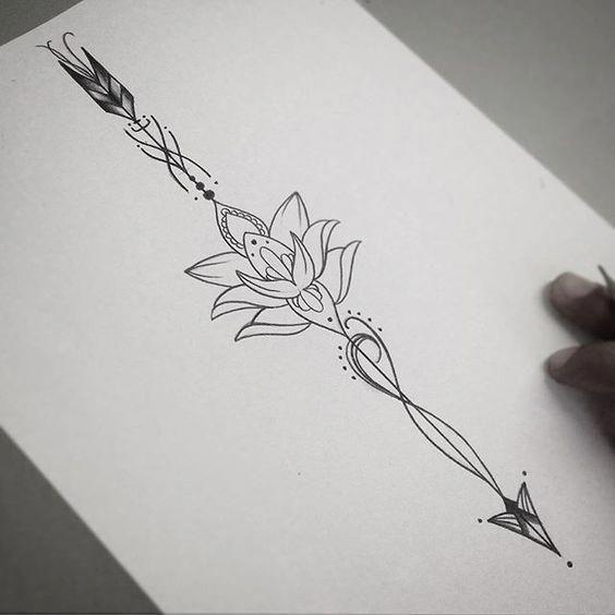 Significado De Tatuajes De Flechas Con Triangulos (183)
