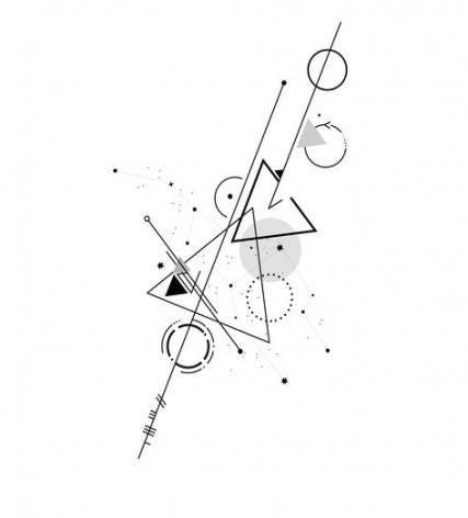 Significado De Tatuajes De Flechas Con Triangulos (194)