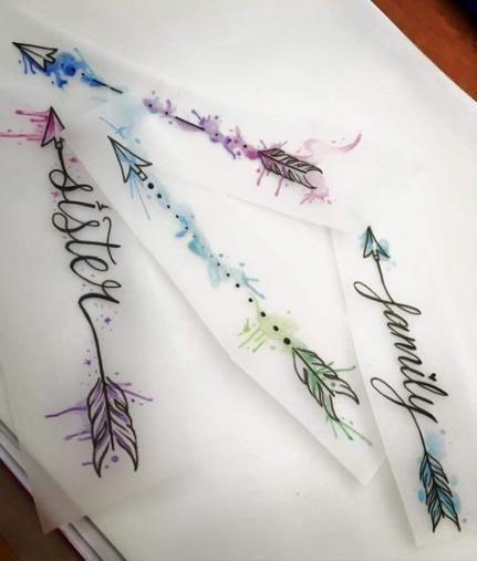 Significado De Tatuajes De Flechas Con Triangulos (199)