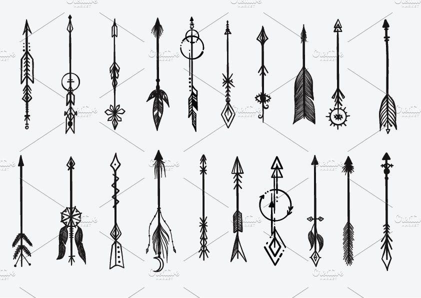 Significado De Tatuajes De Flechas Con Triangulos (2)