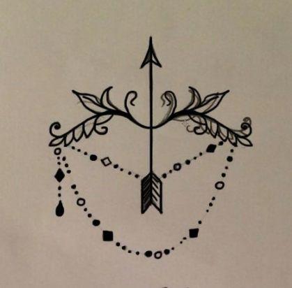Significado De Tatuajes De Flechas Con Triangulos (206)