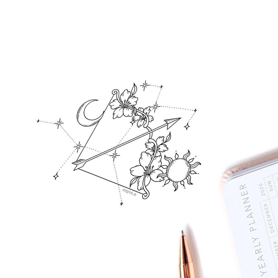 Significado De Tatuajes De Flechas Con Triangulos (212)