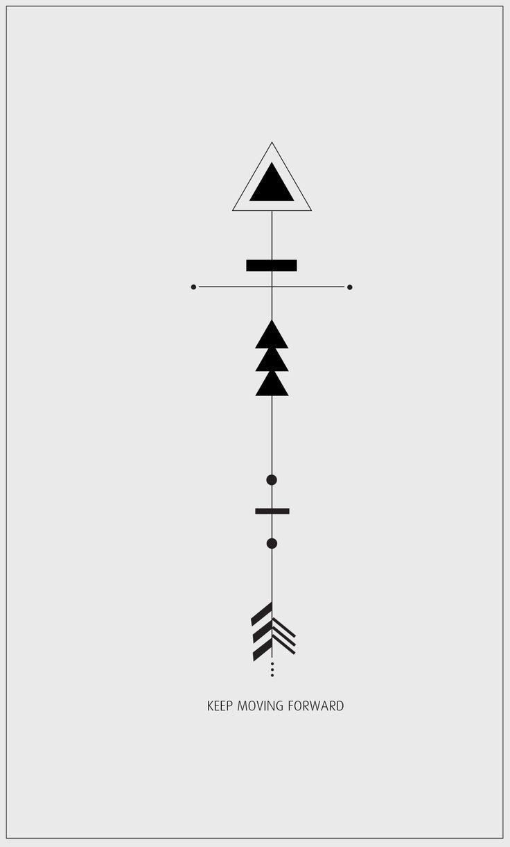 Significado De Tatuajes De Flechas Con Triangulos (214)