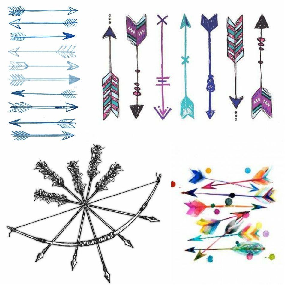 Significado De Tatuajes De Flechas Con Triangulos (38)