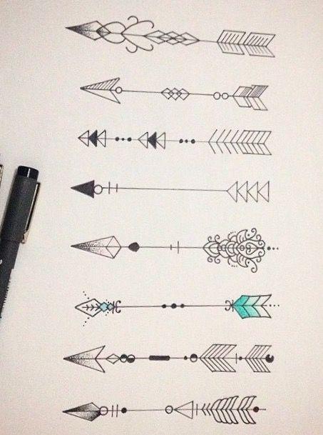 Significado De Tatuajes De Flechas Con Triangulos (47)