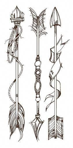 Significado De Tatuajes De Flechas Con Triangulos (49)