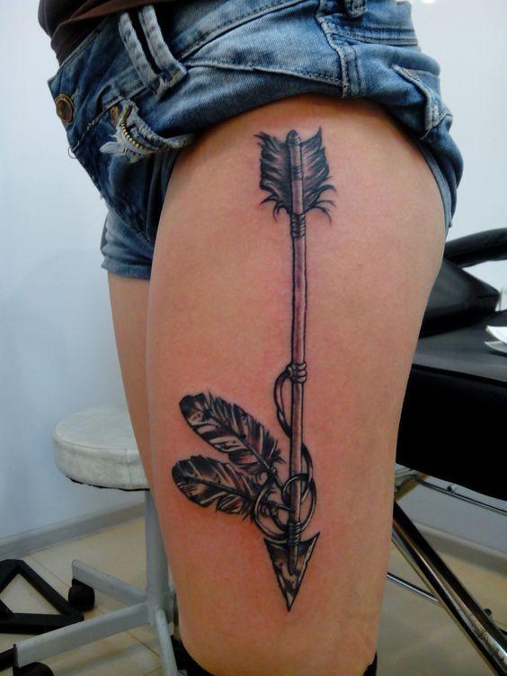 Significado De Tatuajes De Flechas Con Triangulos (55)