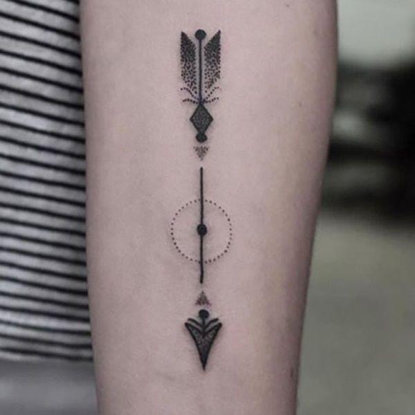 Significado De Tatuajes De Flechas Con Triangulos (56)
