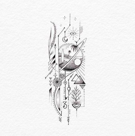 Significado De Tatuajes De Flechas Con Triangulos (68)