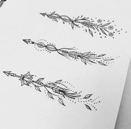 Significado De Tatuajes De Flechas Con Triangulos (77)