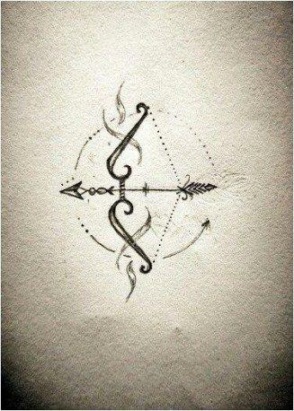 Significado De Tatuajes De Flechas Con Triangulos (78)