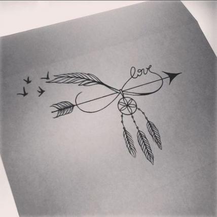 Significado De Tatuajes De Flechas Con Triangulos (79)