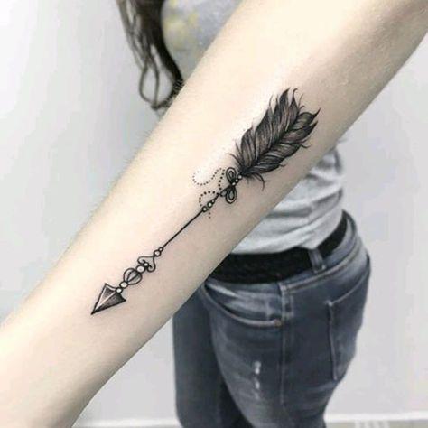 Significado De Tatuajes De Flechas Con Triangulos (8)