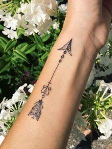 Significado De Tatuajes De Flechas Con Triangulos (88)
