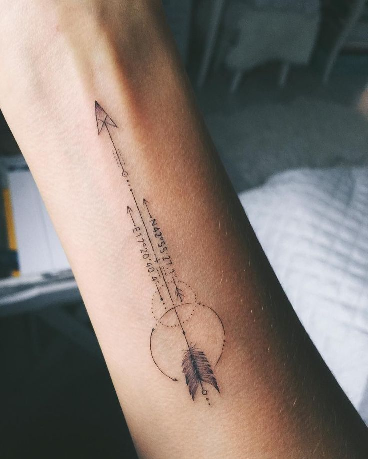 Significado De Tatuajes De Flechas Con Triangulos (91)