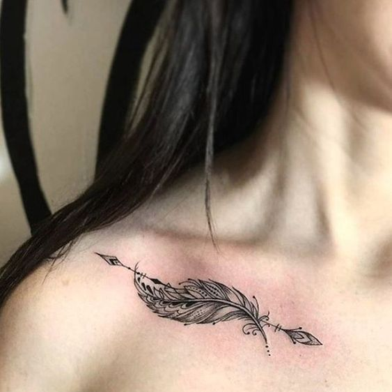 Significado De Tatuajes De Flechas Con Triangulos (99)