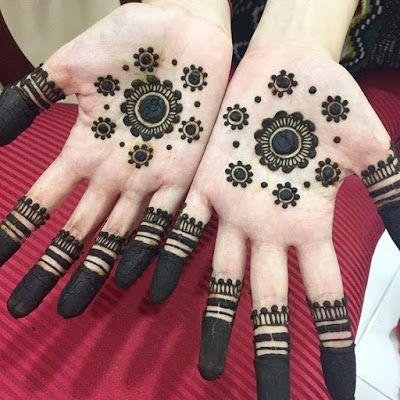 mehndi designs for girls simple
