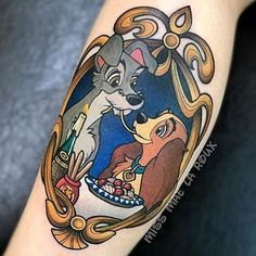 Simple Small Beauty And The Beast Tattoo Designs Ideas (110)