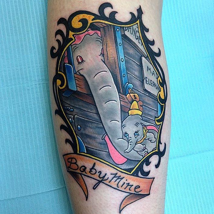 Simple Small Beauty And The Beast Tattoo Designs Ideas (142)