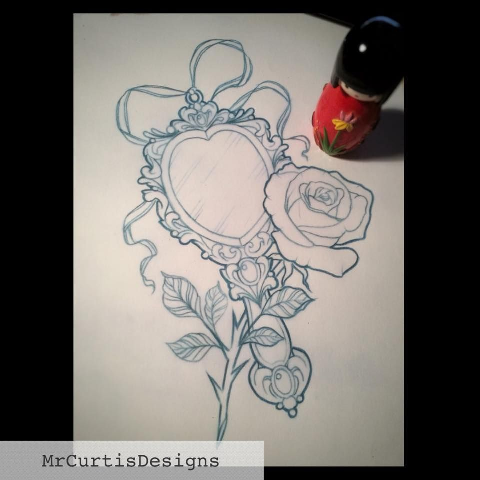 Simple Small Beauty And The Beast Tattoo Designs Ideas (56)