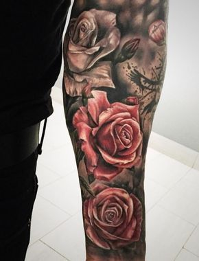 Simple Small Beauty And The Beast Tattoo Designs Ideas (68)
