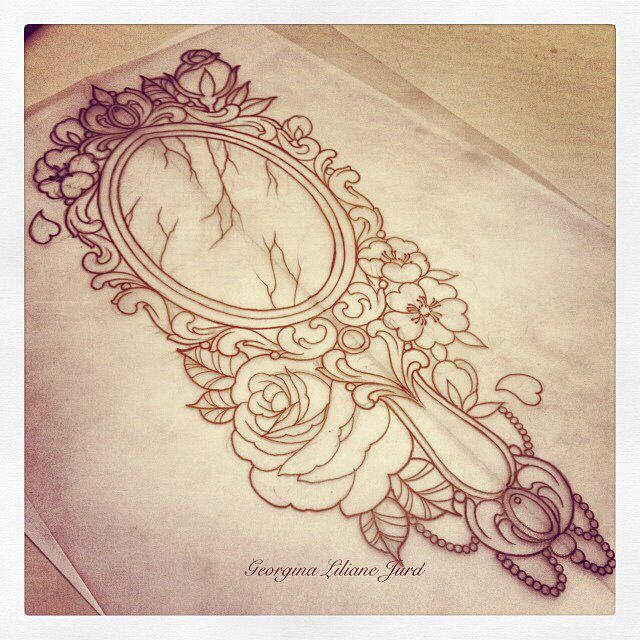 Simple Small Beauty And The Beast Tattoo Designs Ideas (94)