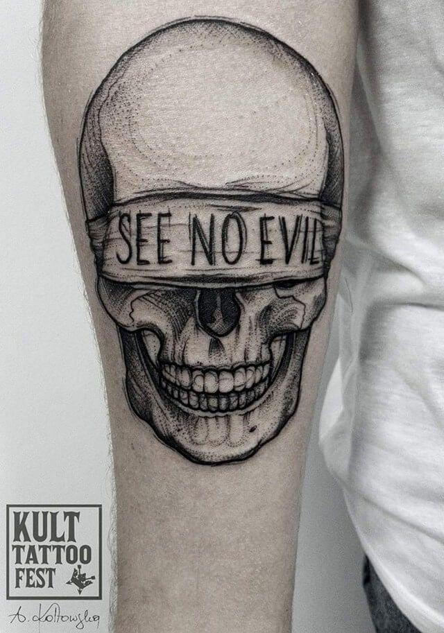Small Simple Bull Tattoo Designs (105)