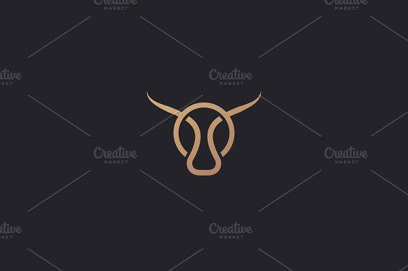 Small Simple Bull Tattoo Designs (111)