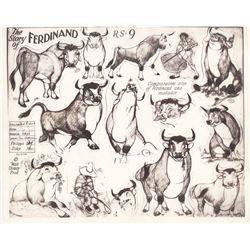 Small Simple Bull Tattoo Designs (137)