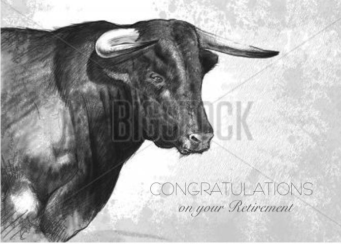 Small Simple Bull Tattoo Designs (154)