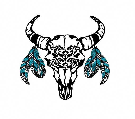 Small Simple Bull Tattoo Designs (16)