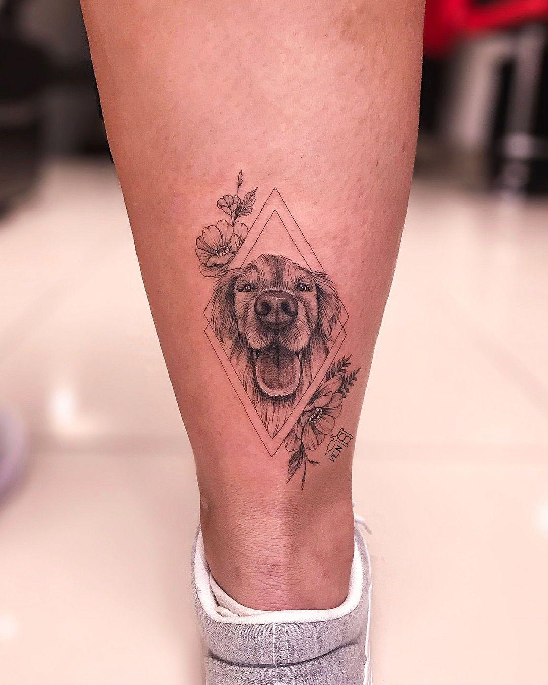 Small Simple Bull Tattoo Designs (204)