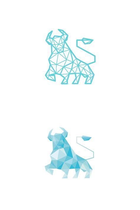 Small Simple Bull Tattoo Designs (207)