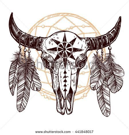 Small Simple Bull Tattoo Designs (28)