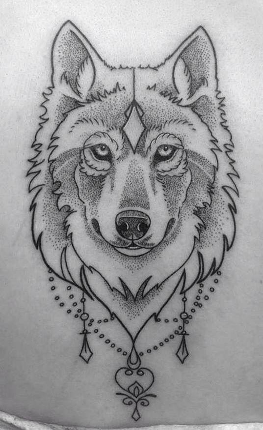 Small Simple Bull Tattoo Designs (31)