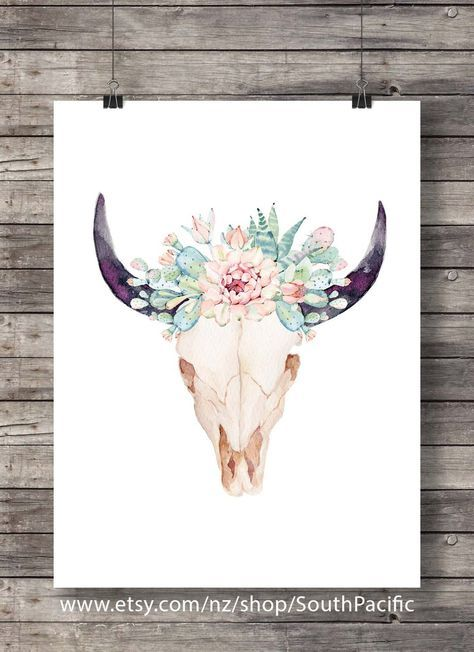 Small Simple Bull Tattoo Designs (63)