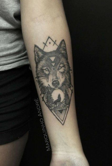 Small Simple Bull Tattoo Designs (73)