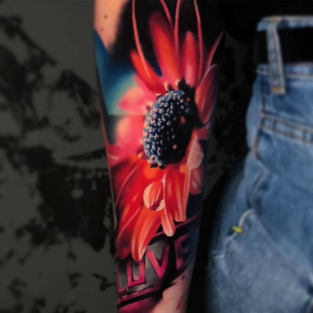 Small Simple Bull Tattoo Designs (85)