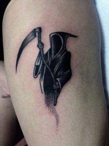 Small Simple Bull Tattoo Designs (97)