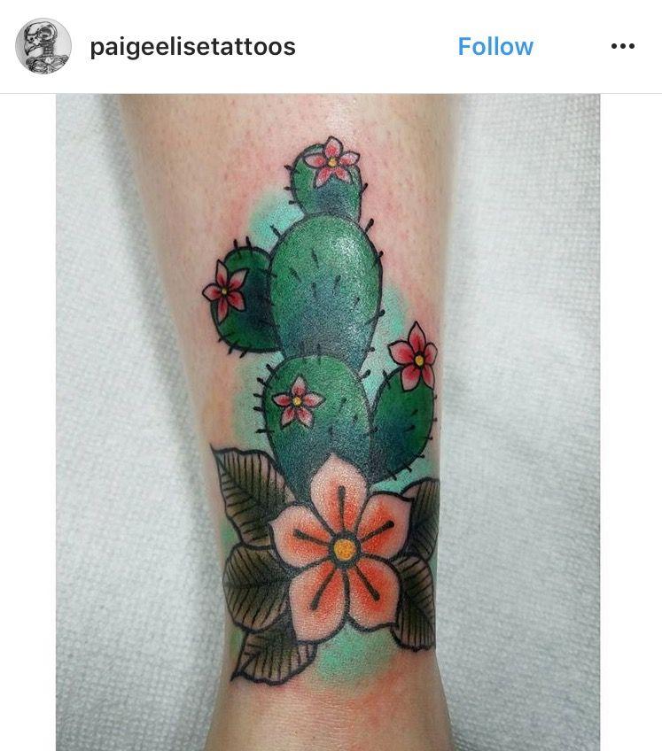 Small Simple Cactus Tattoo Designs (207)