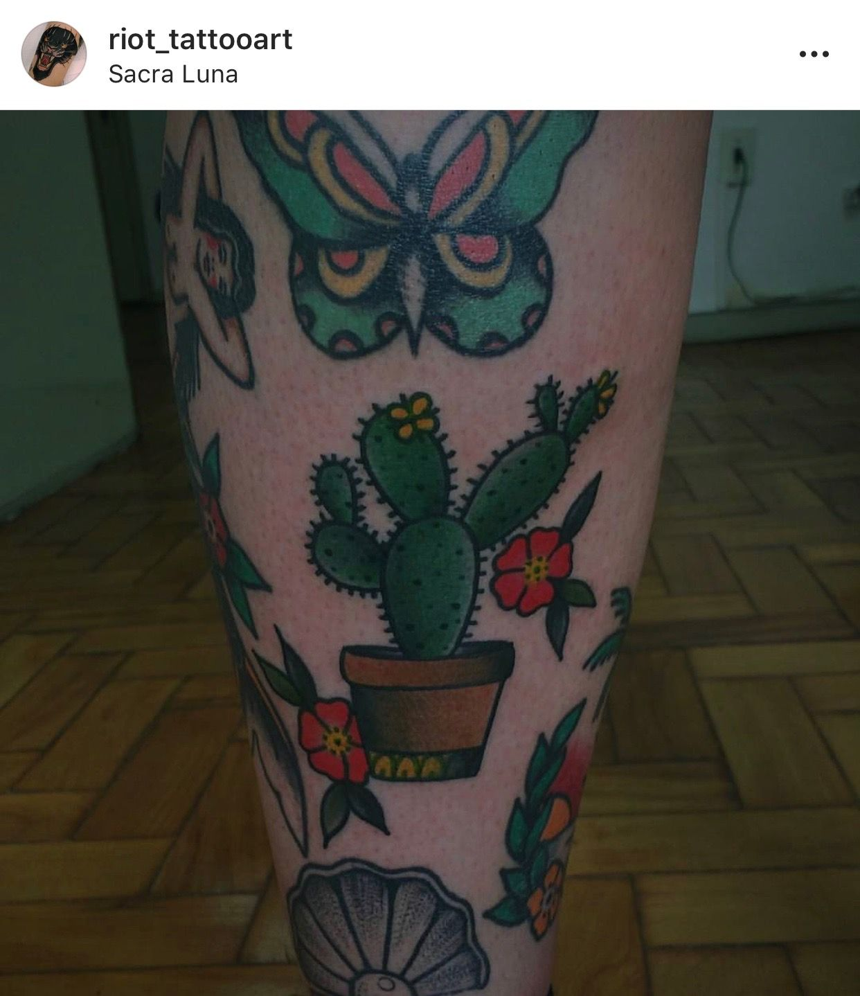 Small Simple Cactus Tattoo Designs (24)