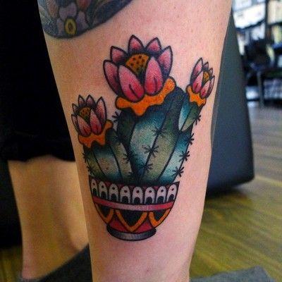 Small Simple Cactus Tattoo Designs (66)